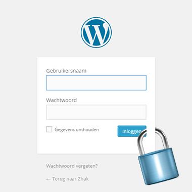 jijonline beveiliging wordpress lock slot