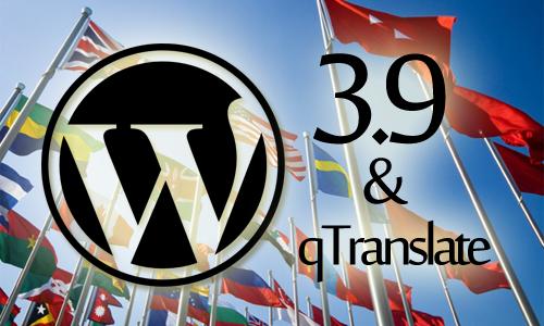 wordpress 3.9 qtranslate