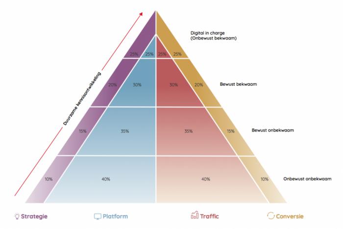 duurzaam digitaal leiderschap piramide